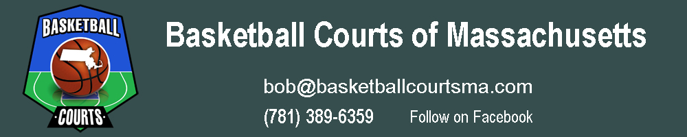 Basketball Courts of Massachusetts Logo