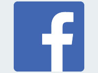 Facebook logo. See our latest on FB